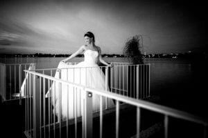 Braut im Germania Ruderclub Hamburg
