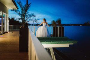 Braut im Germania Ruderclub