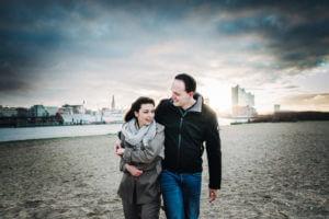 Engaged Couple, Paarshooting, Hamburg