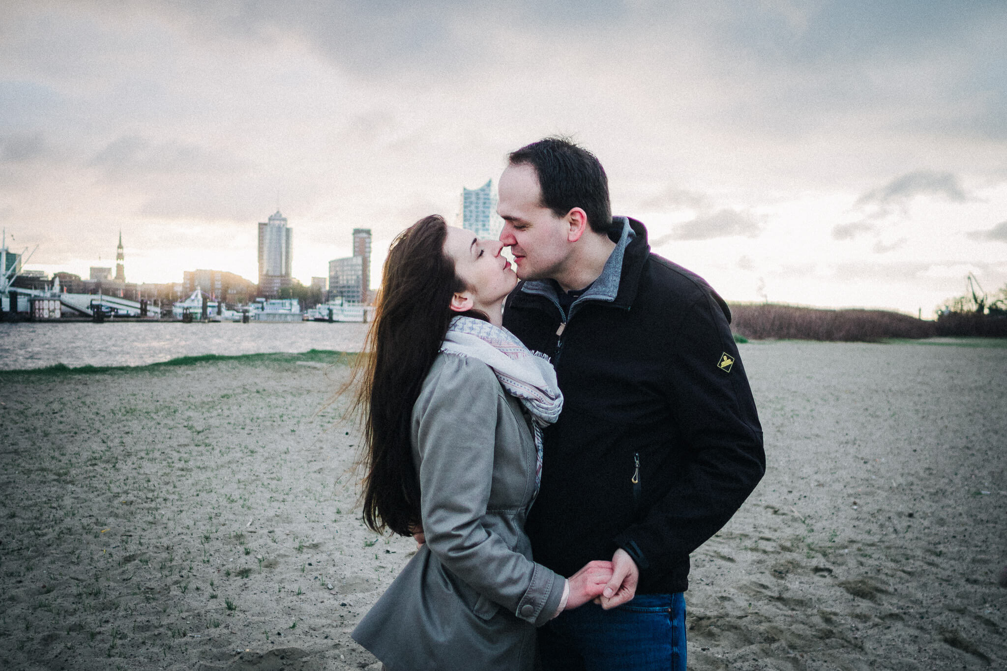 Engaged Couple, Paarshooting, Hamburg