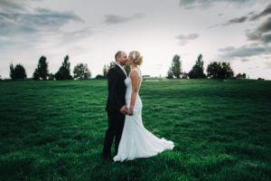 Brautpaar in Grünendeich