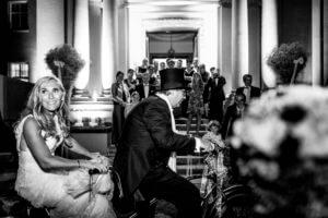 Brautpaar Hochzeit in Aumühle