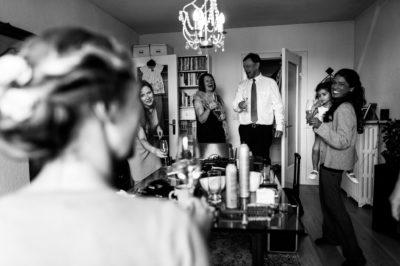 Hochzeit, Getting Ready in Hamburg Hoheluft