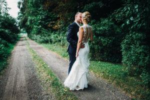 Brautpaar beim First Look Cuxhaven