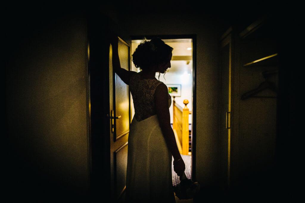 Braut im Hotel Altes Land