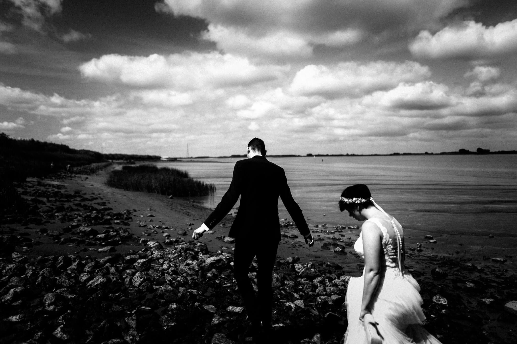Hochzeit Paarshooting Elbe