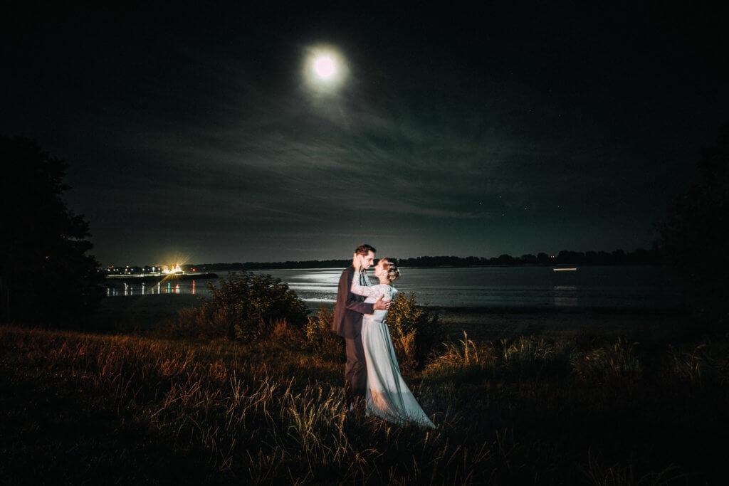 Hochzeit Special Bild Nachts