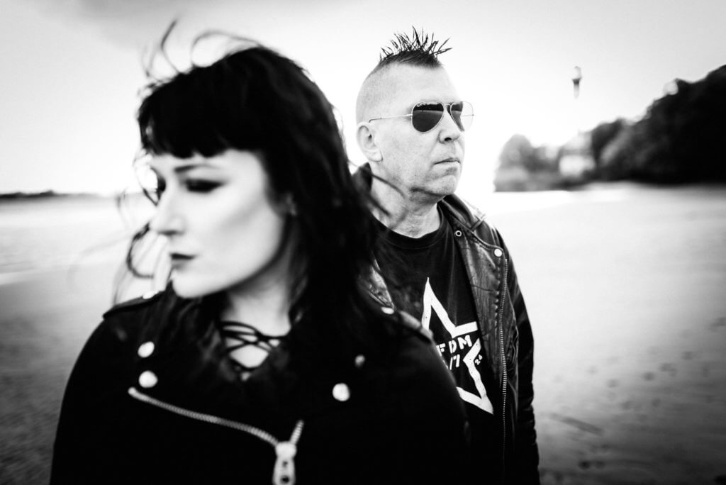 Lucia and Sascha KMFDM Hamburg
