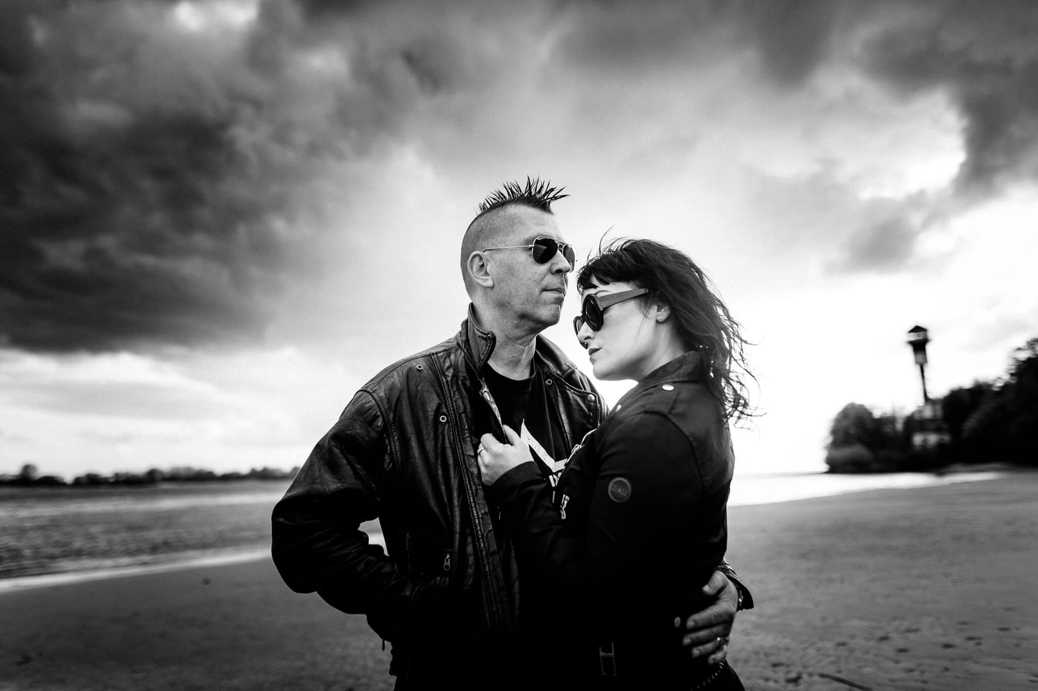 Lucia and Sascha of KMFDM