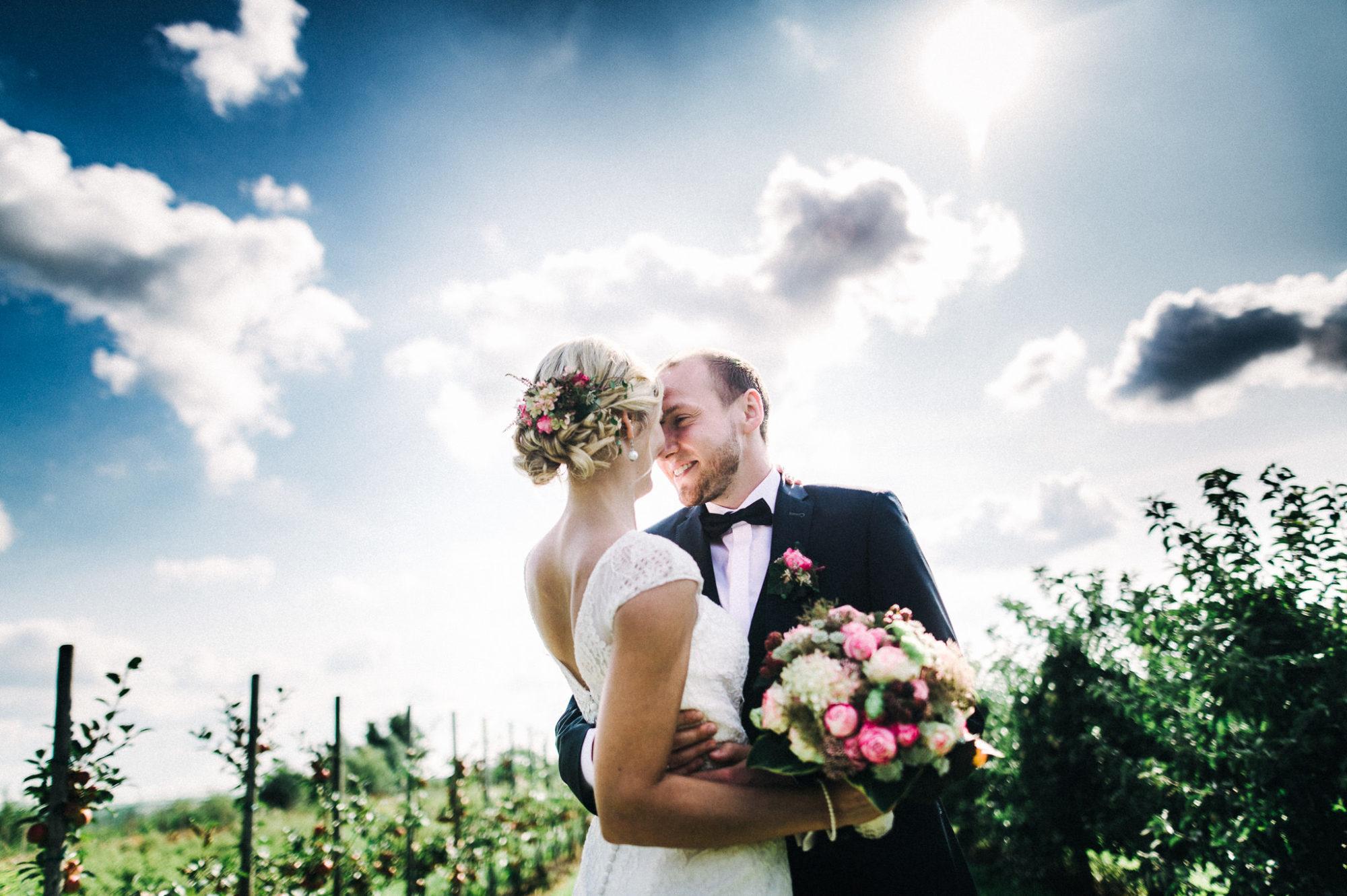 Hochzeit Altes Land, Obsthof Schubak