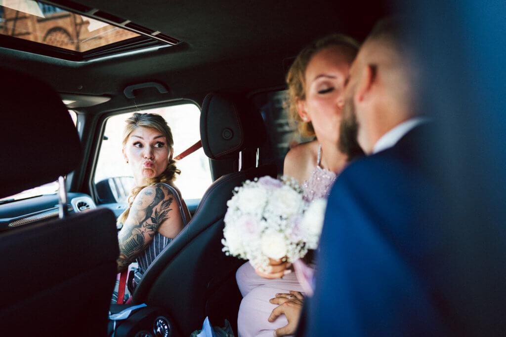 Hochzeitsfotograf Buxtehude Trauzeugin